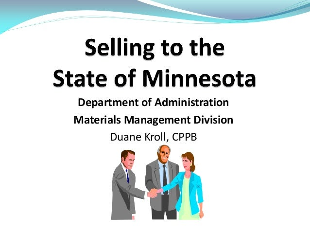 Selling to the state of mn 4 16-13