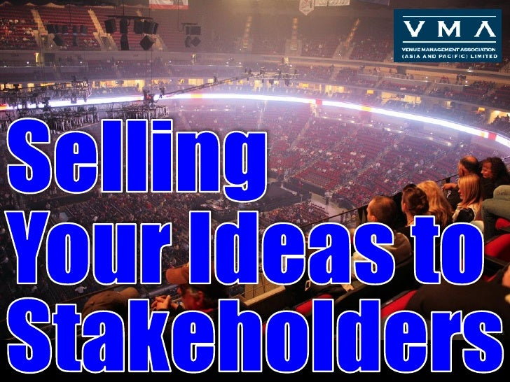 Selling Your Ideas VMA