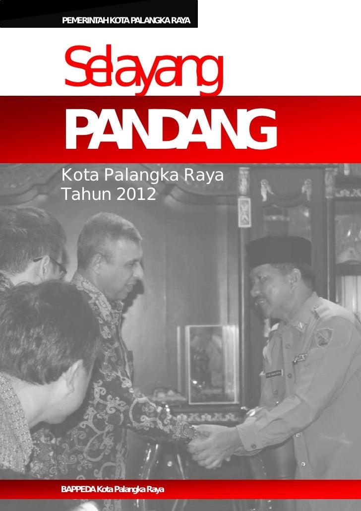 Buku Selayang Pandang Tahun 2012