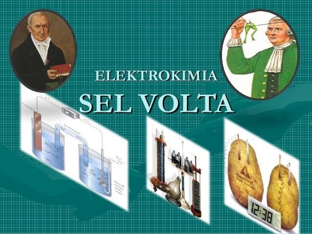 ELEKTROKIMIASEL VOLTA