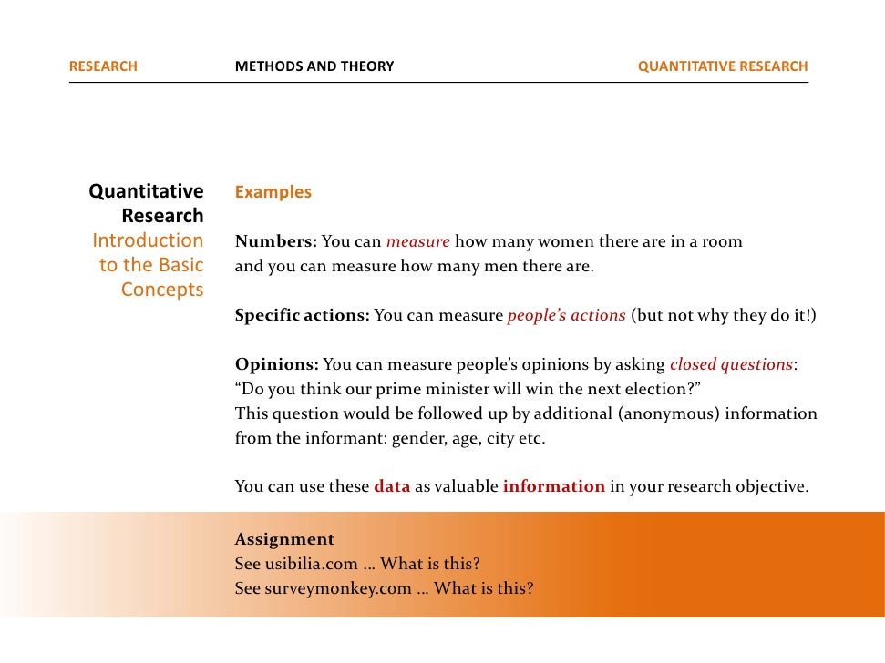 quantitative research in media An overview of how to structure quantitative research questions for a dissertation or thesis.