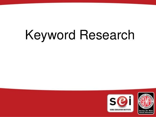 Sema keywords 2010