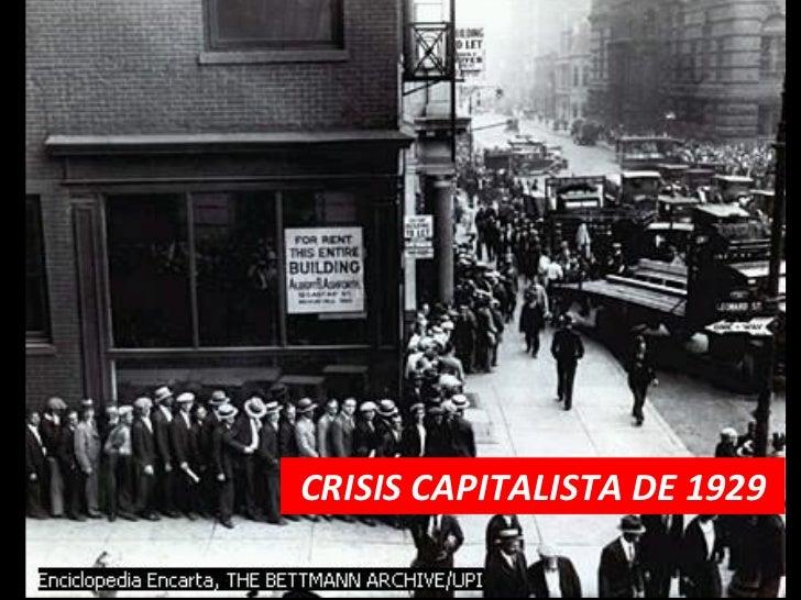CRISIS CAPITALISTA DE 1929