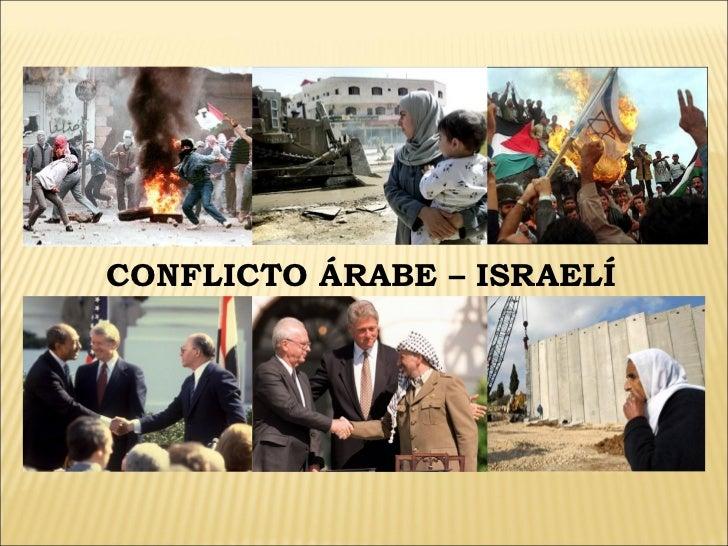 CONFLICTO ÁRABE – ISRAELÍ