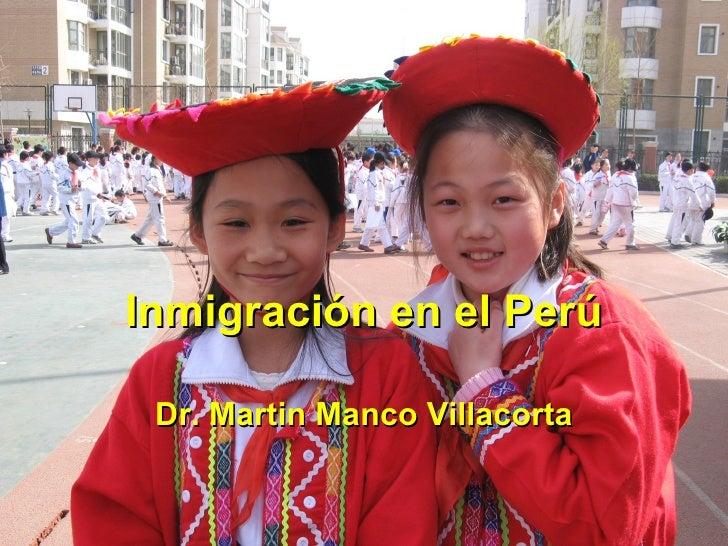 Semana 3   2 inmigración en el perú