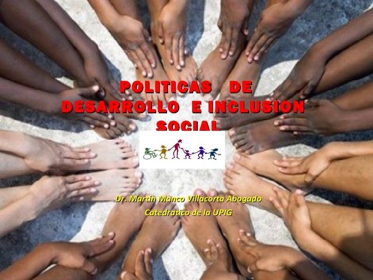 Semana 4   3  inclusion social