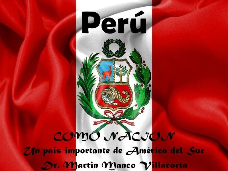 Semana 6   perú como nación