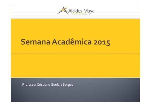 ProfessorCristianoGoulart Borges