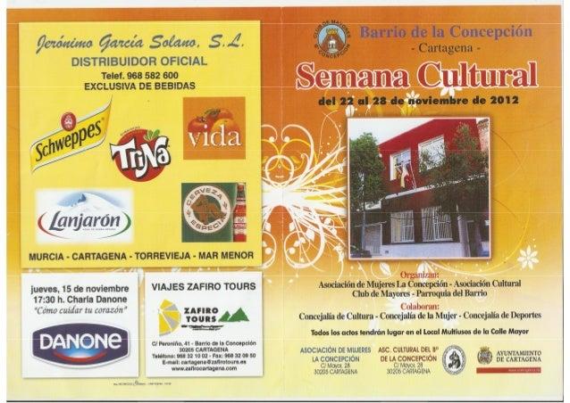 Semana Cultural Barrio de la Concepción 2012