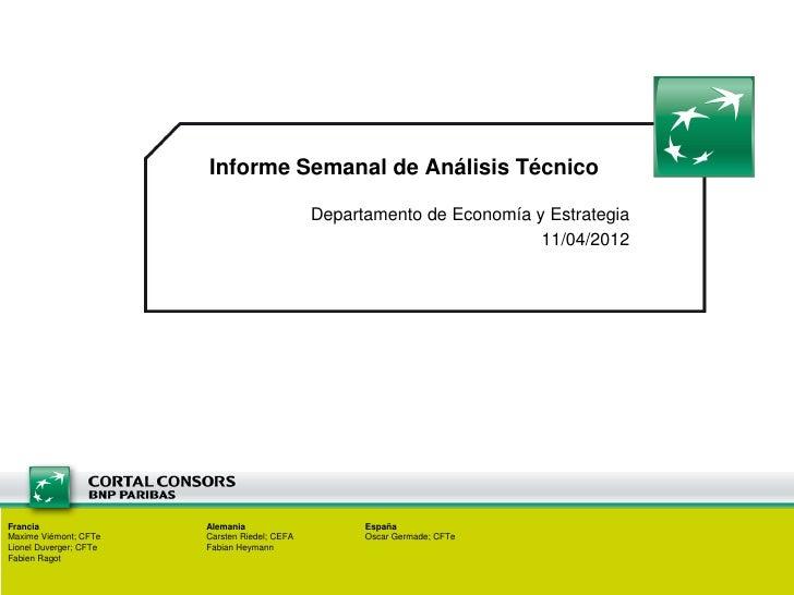Semanal Técnico11/04/2012