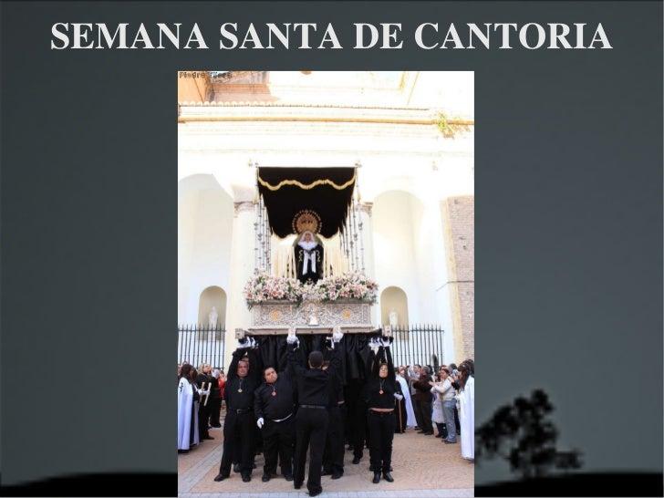 SEMANA SANTA DE CANTORIA 2011