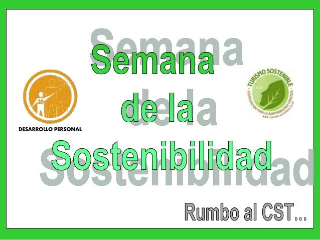 Semana sostenible dpiii