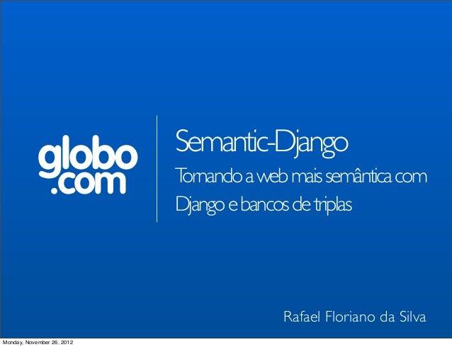 Semantic-Django
