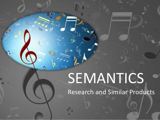 SEMANTICS Research and Similar Products