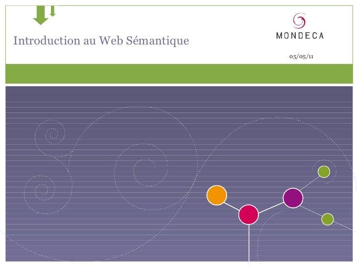 Semantic web introduction