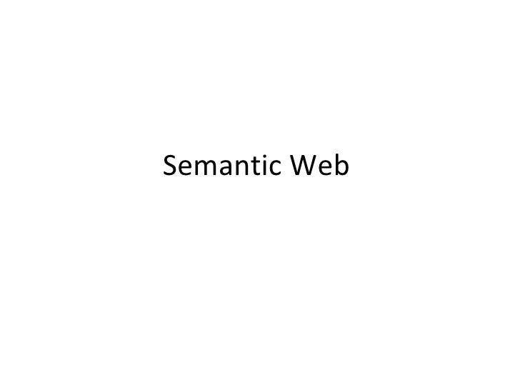 Semantic web2