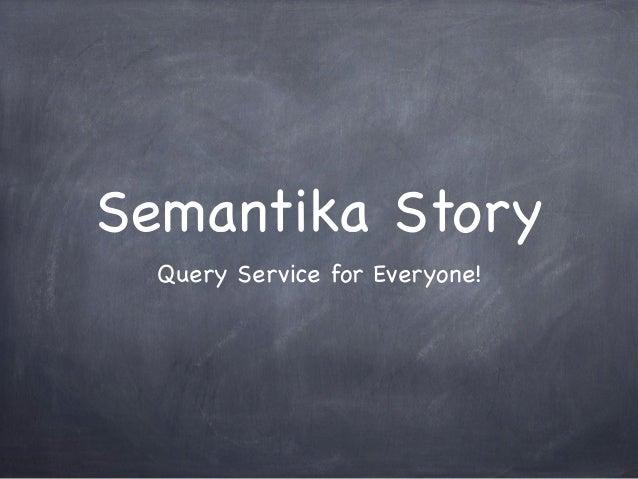 Semantika Story