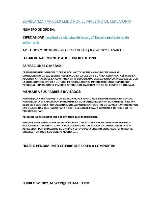 Cover Letter » Ejemplo De Cover Letter - Cover Letter And Resume