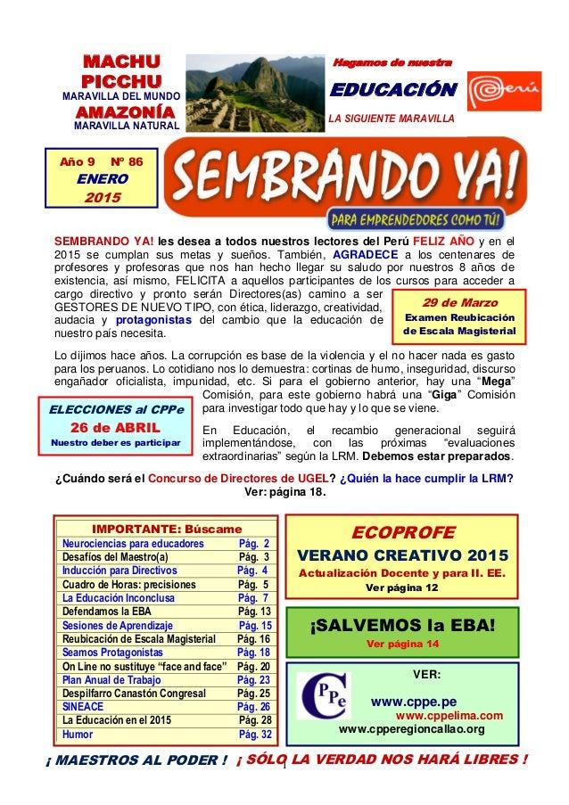 1 MACHU PICCHU MARAVILLA DEL MUNDO AMAZONÍA MARAVILLA NATURAL Hagamos de nuestra EDUCACIÓN LA SIGUIENTE MARAVILLA SEMBRAND...