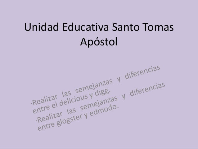 Unidad Educativa Santo Tomas Apóstol