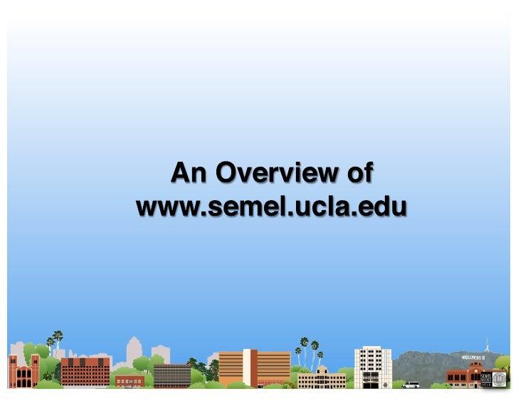 Semel Website More Detail