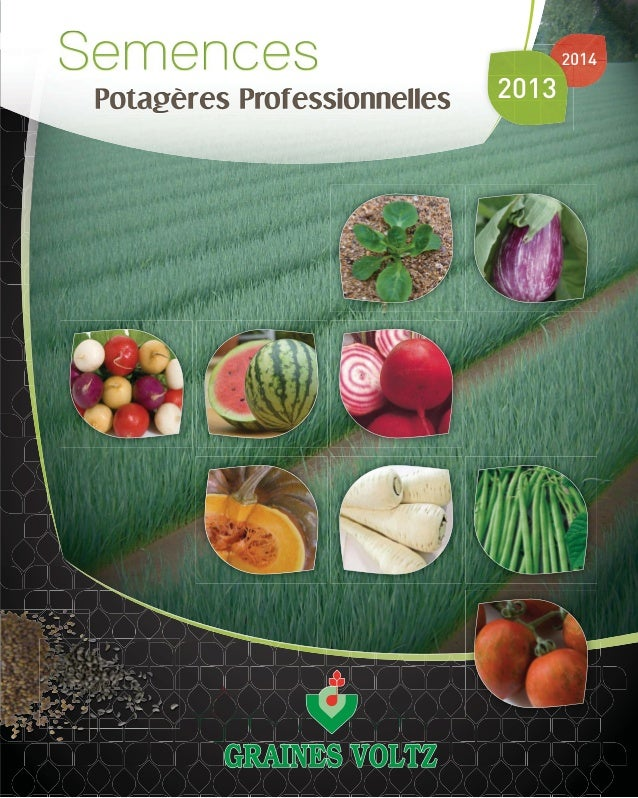 Semences potageres professionnelles_2013_2014