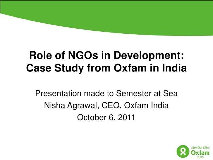 Semester at sea explorer's seminar on role of ng os final