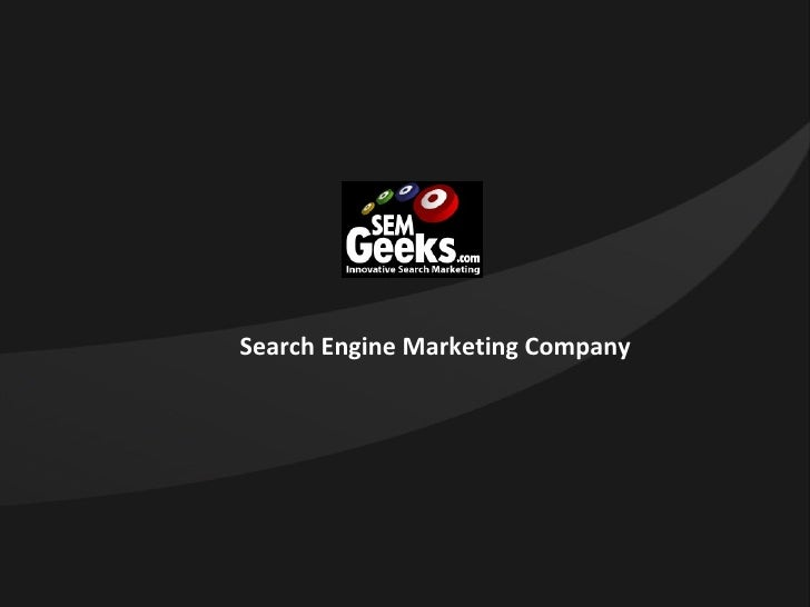 SEM Geeks - Search Engine Marketing Company New Jersey