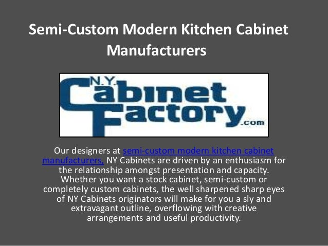 Semi custom modern kitchen cabinet manufacturers - Custom kitchen cabinet manufacturers ...