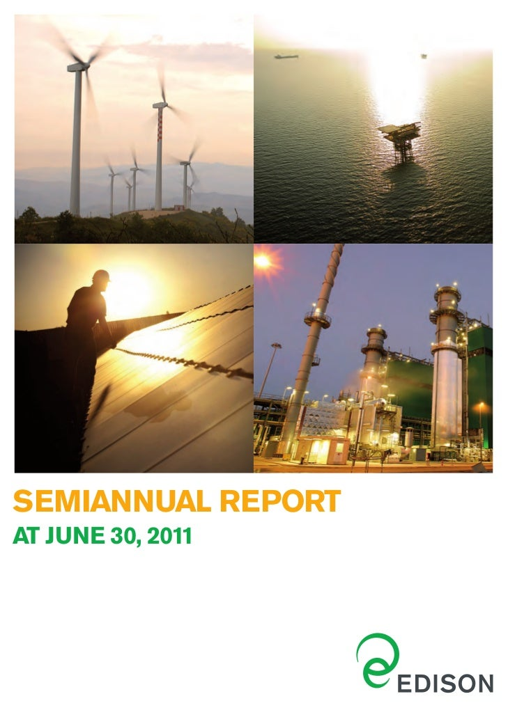 Semiannual report 30 june 2011
