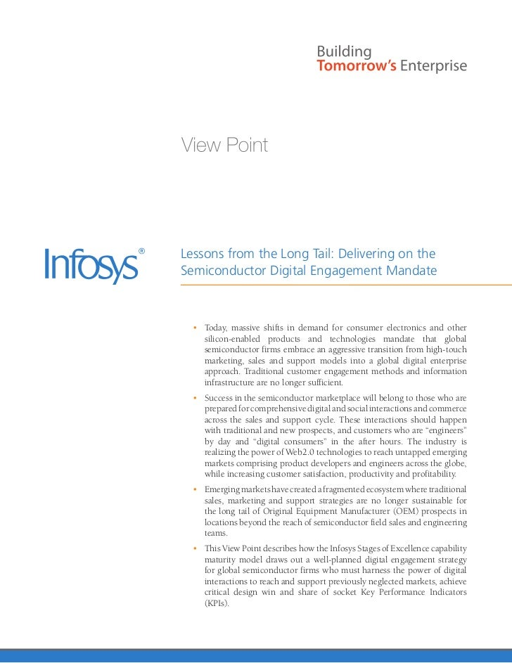 Lessons from the Long Tail: Delivering on theSemiconductor Digital Engagement Mandate  • Today, massive shifts in demand ...