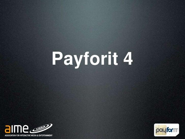 Payforit 4