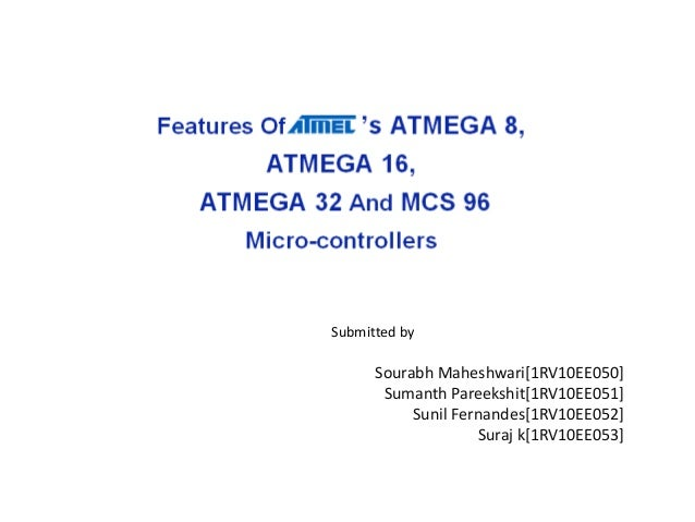 Features of ATMEL microcontrollers
