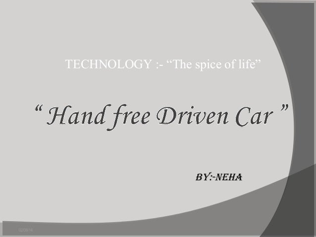 HAND FREE DRIVEN CAR