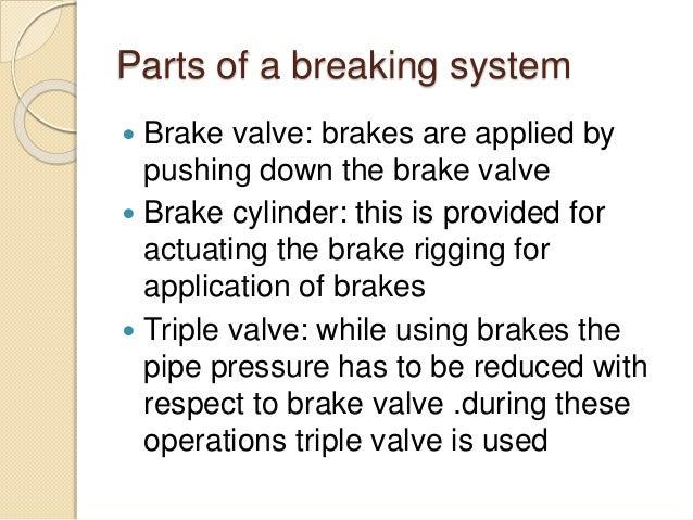 railway wagon braking system seminar pdf