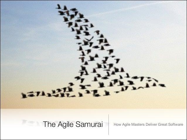 The Agile Samurai  How Agile Masters Deliver Great Software