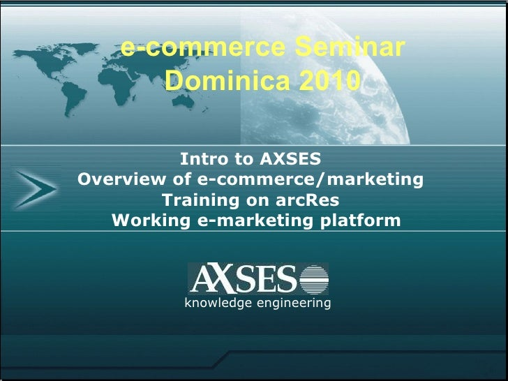 Seminar Bookings dominica