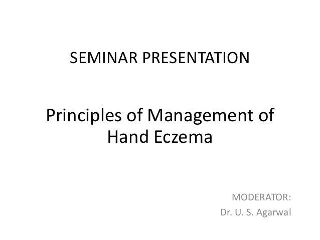 Seminar  hand eczema