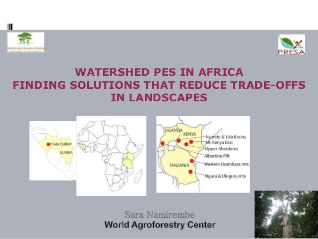 Seminar 13 Mar 2013 - Session 3 - Watershed PES in Africa_ by SNamirembe
