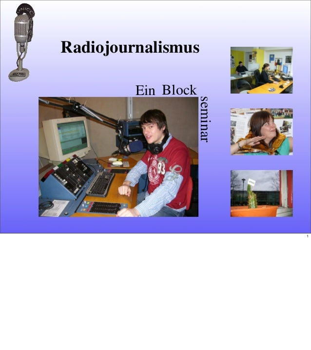 EinseminarBlockRadiojournalismus1