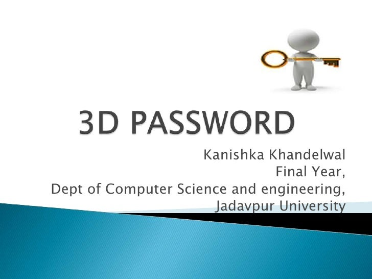 Kanishka_3D Passwords