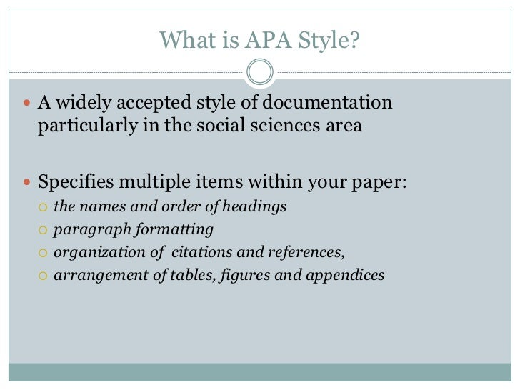 Apa style writing for dummies