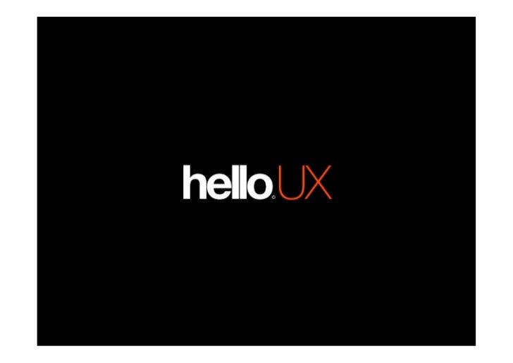 UX & Apps   By Tobias Høgsberg