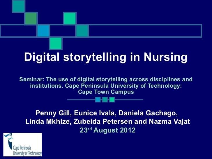 Digital storytelling by