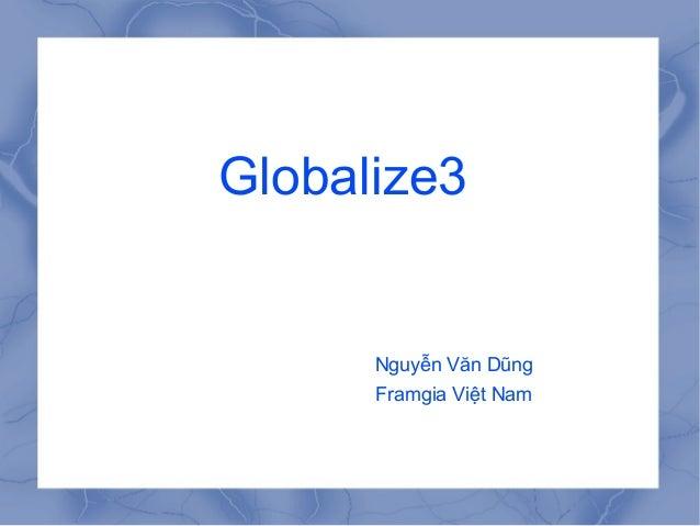 Seminar globalize3 - DungNV