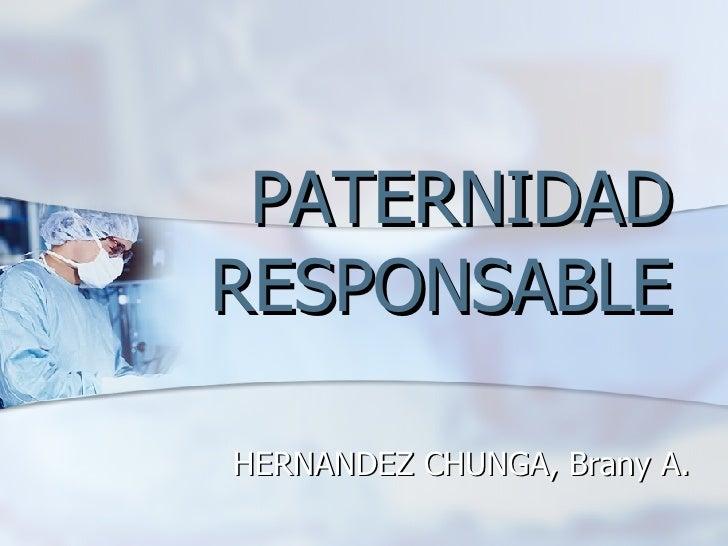 Anticoncepcion seminario hnerm for Paternidad responsable