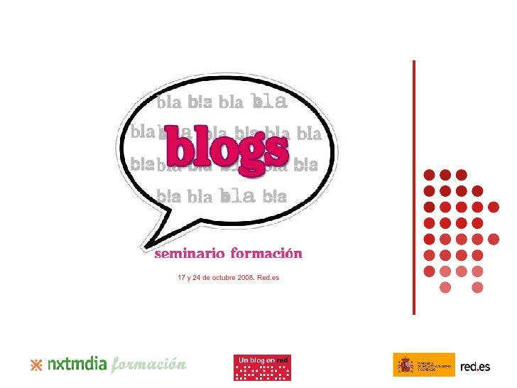Seminario Blogs red.es