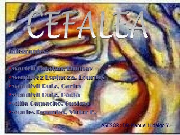 Seminario Cefalea