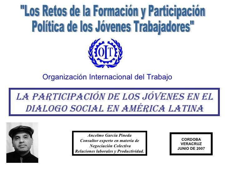 Seminario jovenes-dialogo social-ctm-oit