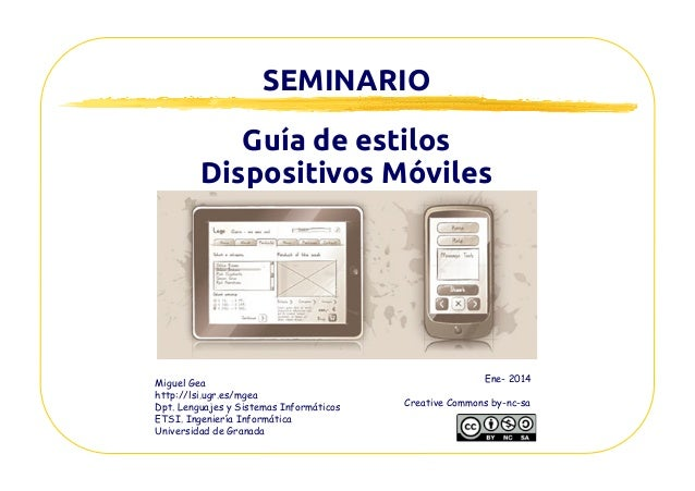Seminario Dispositivos moviles